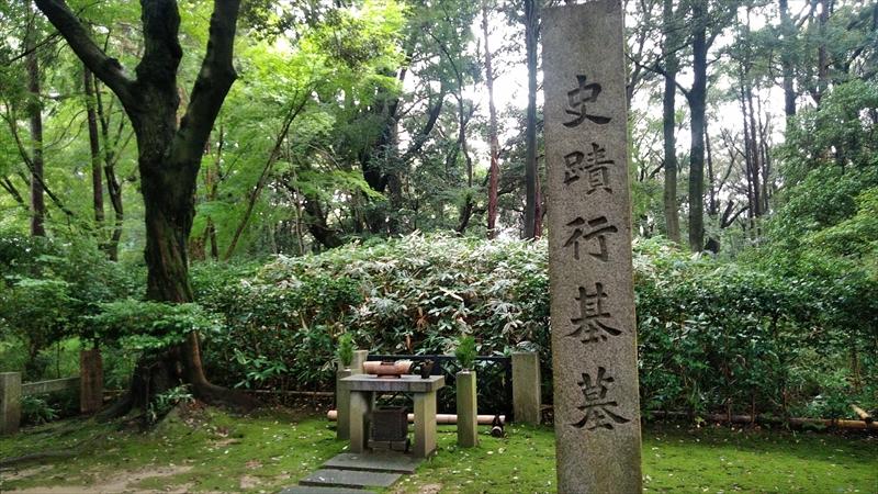 行基のお墓(竹林寺)3