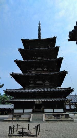 法隆寺 五重の塔
